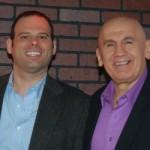 Joe with client, Attorney Jason Goitia.