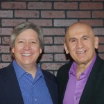 Joe with client, Corporate Executive, Tom Godfrey of Retail Teamwork