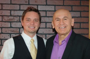Joe with client, Managing Partner of Tropical Prudential Real Estate and industry trainer, Russ Laggan