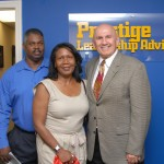 First Intel Group President Bill Wright with wife Elaina and I