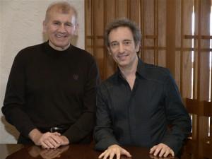 Joe working with 22-time Platinum Award-Winning singer, songwriter, composer, David Pomeranz.
