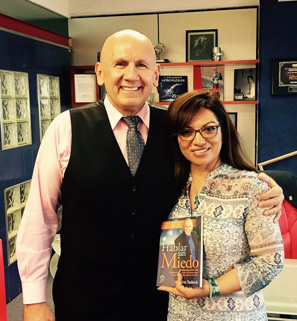 Deputy Secretary of Education, Mexico, Cynthia Benavides endorses Spanish edition of No Fear Speaking
