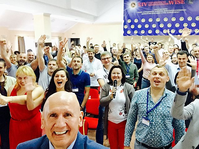 Kiev,Ukraine Business Convention end of Workshop