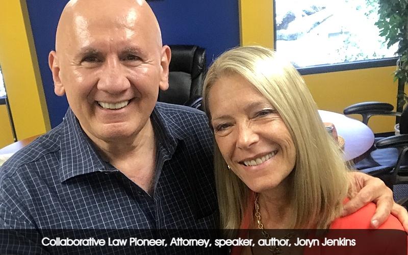 Collaborative Law Pioneer, Attorney, speaker, author, Joryn Jenkins fin