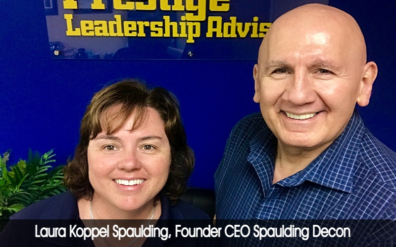 Laura Koppel Spaulding, Founder CEO Spaulding Decon fin