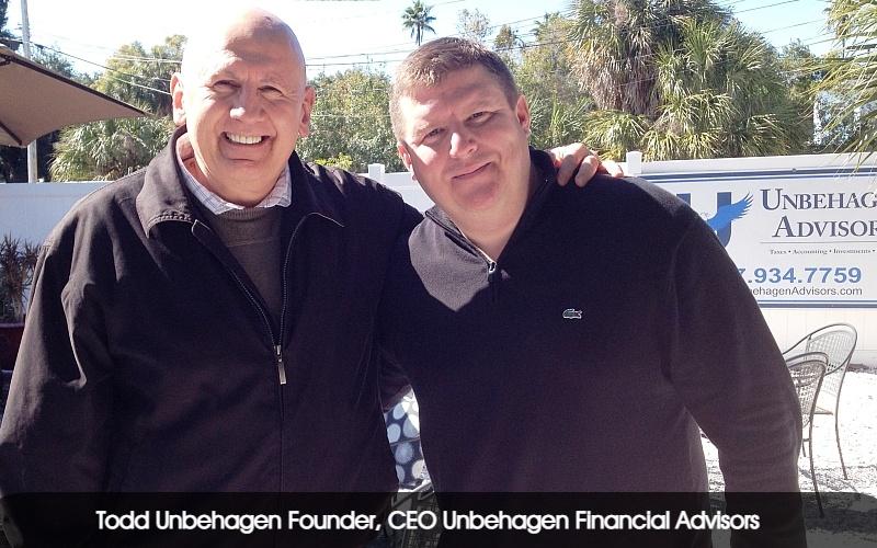 Todd Unbehagen Founder, CEO Unbehagen Financial Advisors fin